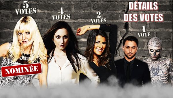 Détails des votes - semaine 4 (saison 17)