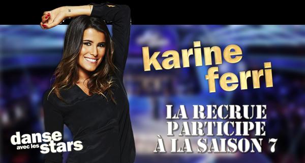 """Karine Ferri dans """"Danse avec les stars 7"""""""