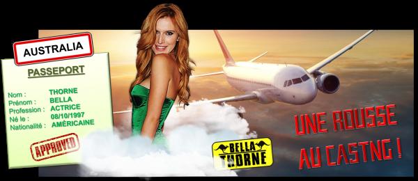 4ème recrue officielle : Bella Thorne
