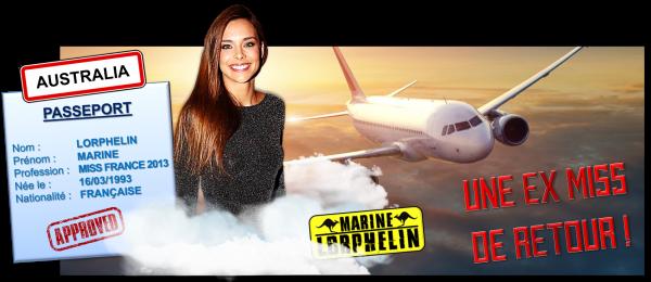 5ème recrue officielle : Marine Lorphelin