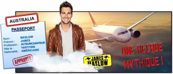 7ème recrue officielle : James Maslow