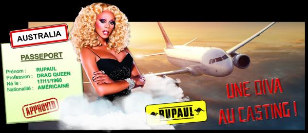 8ème recrue officielle : RuPaul
