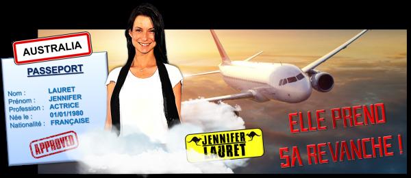 9ème recrue officielle : Jennifer Lauret