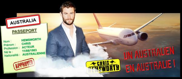 10ème recrue officielle : Chris Hemsworth