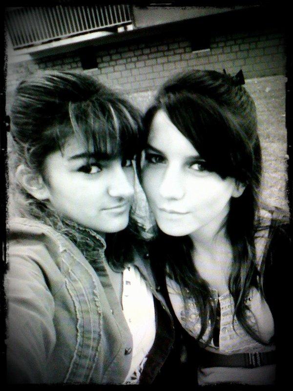 Sarah et Sarah. ♥