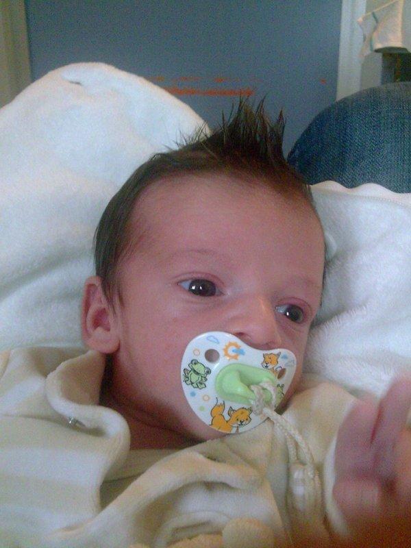 Nasim mon fils que j'aime à la folie