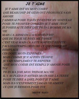Poeme Pour Mon Homme Blog De Lindsay Love Jimmy