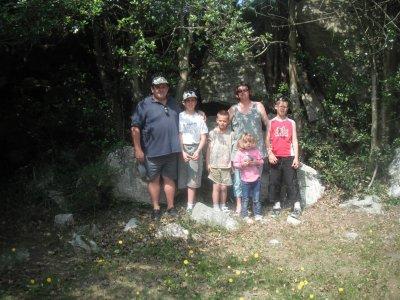 nous 6 en promenade au mont castre