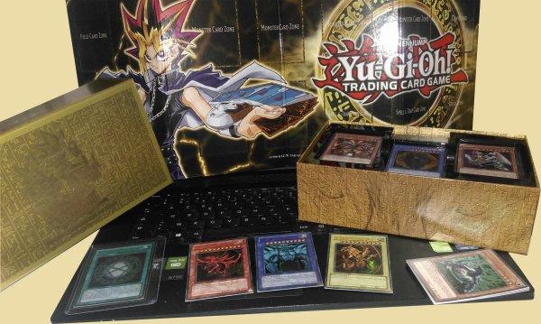 Le Pack légendaire de YUGI Reçu avec '' le sceau d'orichalque '' + booster acheté avec une superbe carte OMG !