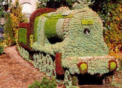 la mosaiculture,encore un art peux connue de tous le monde!!