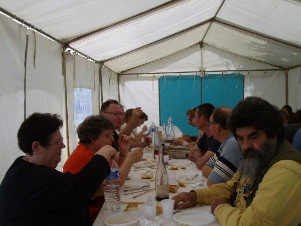 Repas des petits jardiniers le 15 juin 2013 de Saint Pierre des Corps..