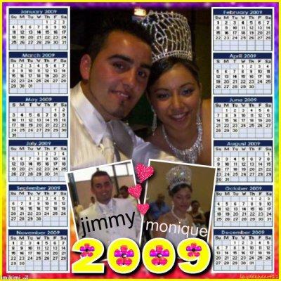 boda jimmy  y monique en 2009