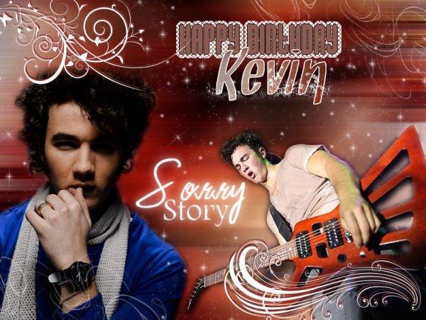 . Sorry-Story présente .  ღ Kevin Jonas 23rd B-Day  ღ. .