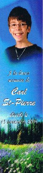 . Sorry-Story présente .  ღ Carl St-Pierre  ღ. .