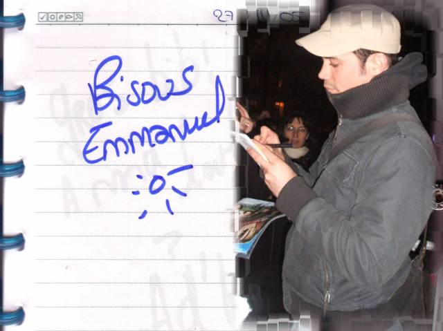 Autographe d'Emmanuel