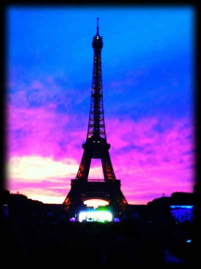 14 Juillet with Eiffel Tower