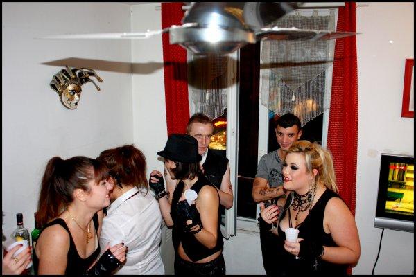 My 25th Birthday - Rock & Gothic sexy Party 10/12/11