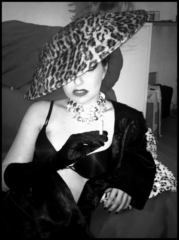 Shoot by @AurelFOfficiel w/ Hat vintage Christian Lacroix