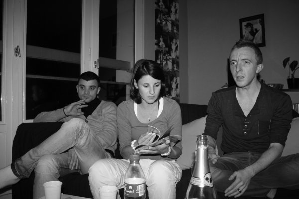 Au cours d'une soirée à Rouen / 28 Janvier 2012 Part III