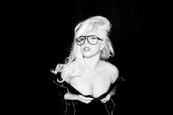 Lady Gaga by Terry Richardson