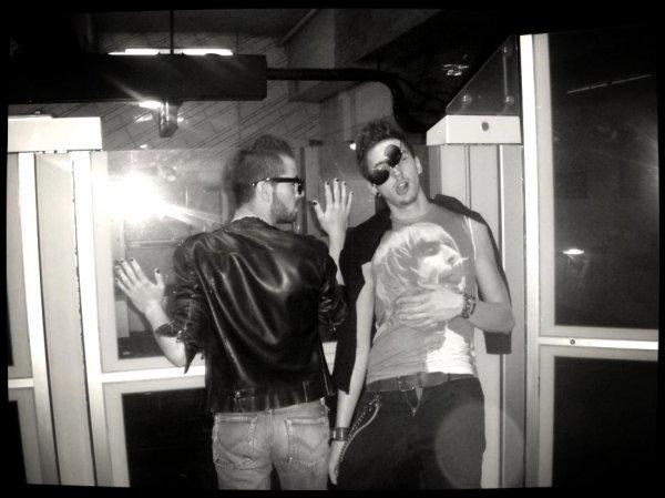 W/ Mathieu Bernik & Louis -