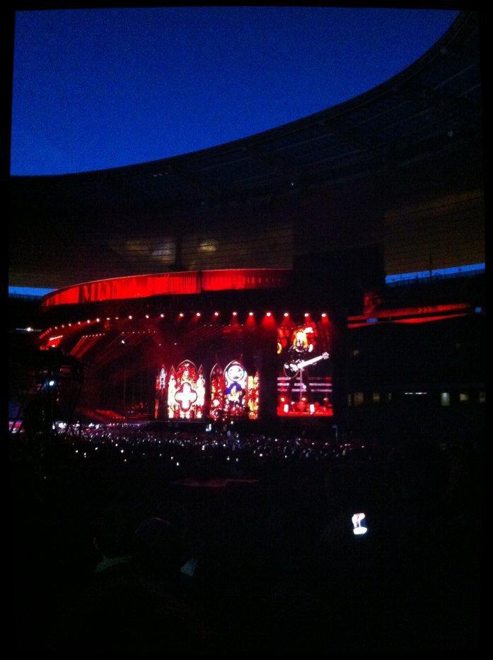 Madonna Stade de France 14 Juillet 2012