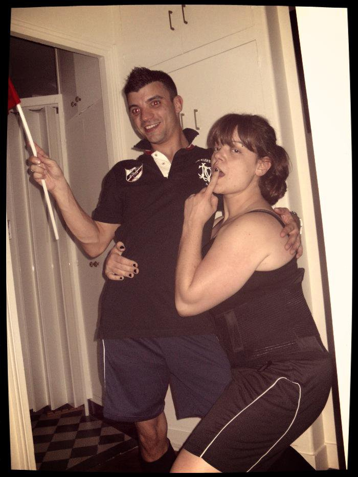 Birthday Party Foot Melissa & Birhtday Surprise Sasa Part II