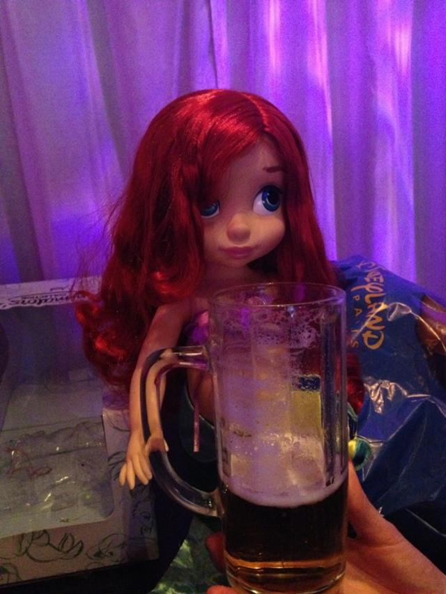 Les aventures d'Ariel...