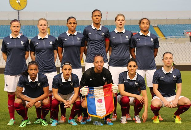 France - Australie (tournoi de Chypre)