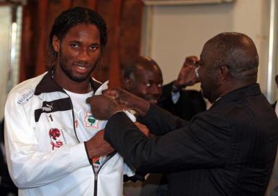 Resultado de imagen para laurent gbagbo drogba