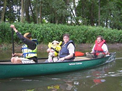 SORTIE  en CANOE  dans la Forêt Noire le 1 er juin 2009