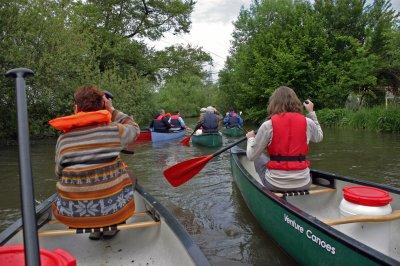 SORTIE  CANOE  du 16 MAI  en Forêt Noire