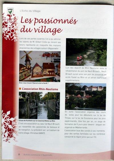 PERMIS BATEAUX  NEUF BRISACH  (Haut-Rhin / Alsace)