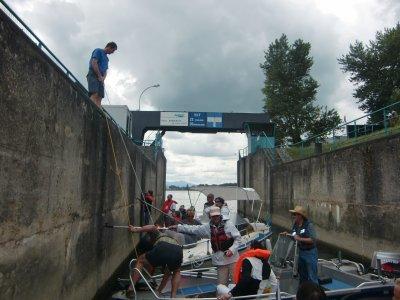 SORTIE en bateaux  sur le canal de Colmar le 11 juin