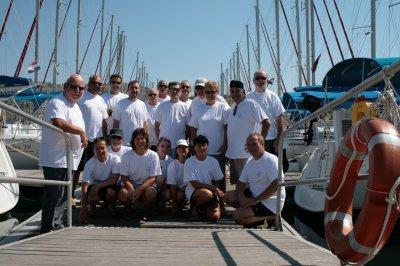 Sortie  VOILE en CROATIE  avec 20 membres de RHIN NAUTISME