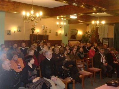 ASSEMBLEE GENERALE  du 4 février 2012 avec le Député Eric STRAUMANN