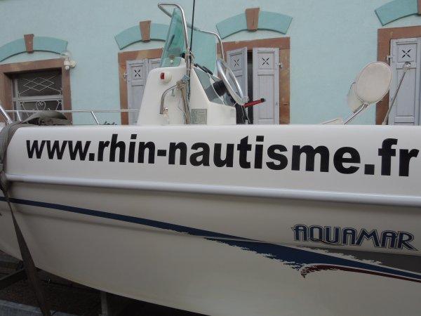 PERMIS bateaux FLUVIAL   à NEUF BRISACH (68)