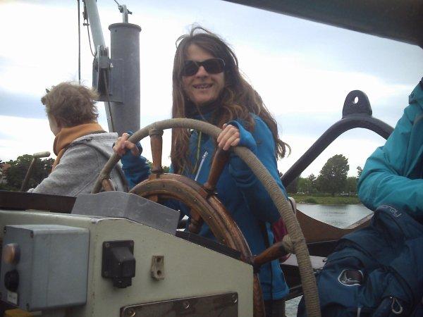 le bateau de GREENPEACE a Breisach