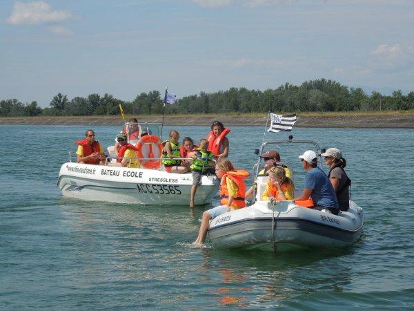 FETE du NAUTISME port de l île du RHIN  le 06 juillet  pour les membres de RHIN NAUTISME