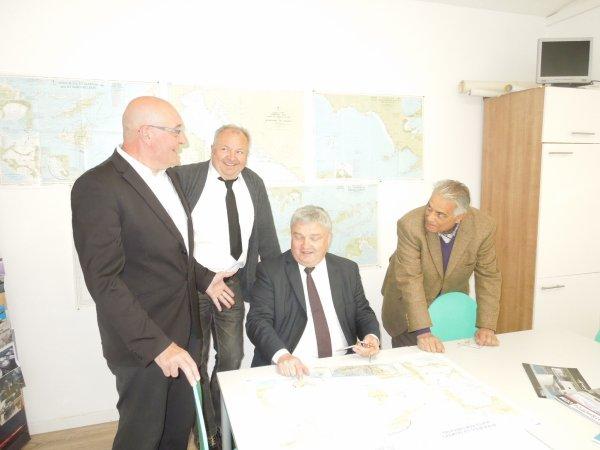 INAUGURATION du centre de formation de RHIN NAUTISME avec les élus