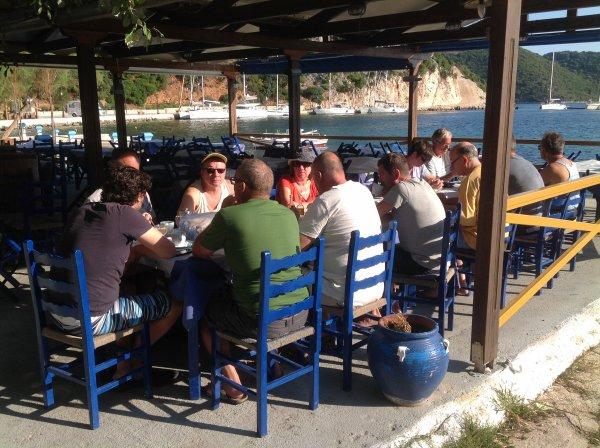 SORTIE VOILE avec 5 bateaux Oceanis 44 en GRECE du 11 au 19 septembre