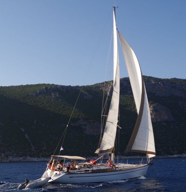 sortie VOILE en GRECE avec RHIN NAUTISME