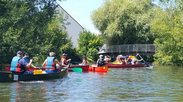 SORTIE en CANOE  le 29 juillet ...RHIN NAUTISME ça bouge !!!