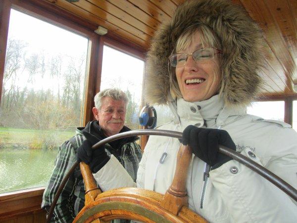 PERMIS PENICHE avec RHIN NAUTISME en ALSACE à bord du MS TAPATOUTVU