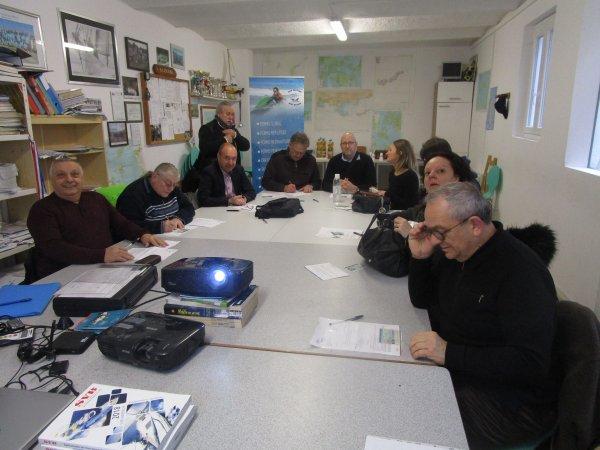 54 CANDIDATS  au CERTIFICAT CRR RADIO MARITIME du 31 janvier