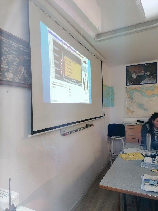 FORMATIONS en cours au CENTRE DE FORMATION de RHIN NAUTISME