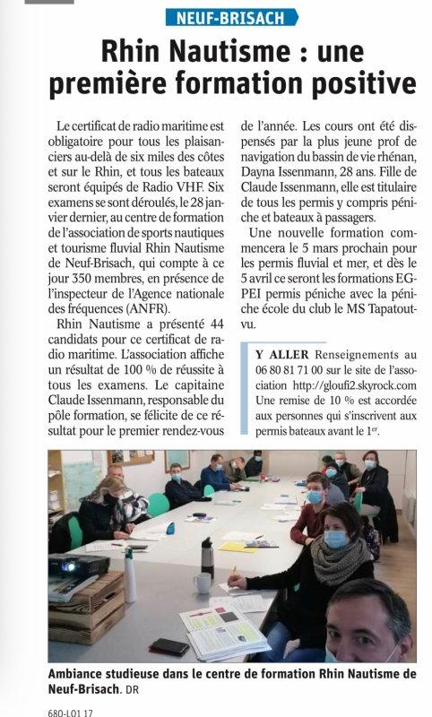 100% REUSSITE  à L EXAMEN CRR RADIO du 28 janvier