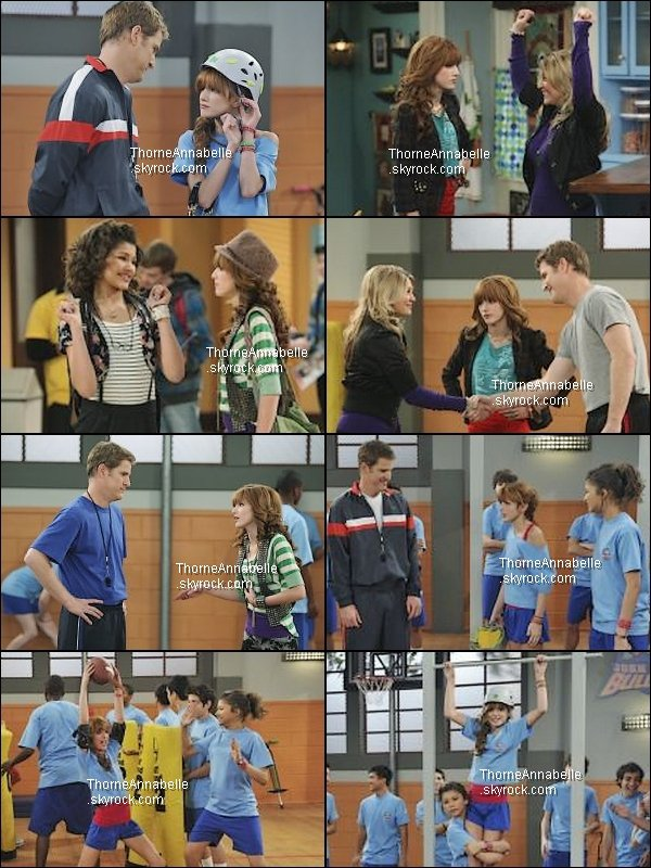 ".Ici, quelques photos de l'épisode ""Sweat It Up"" de la série ""Shake It Up"" ! ."