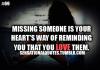 missing someone </3