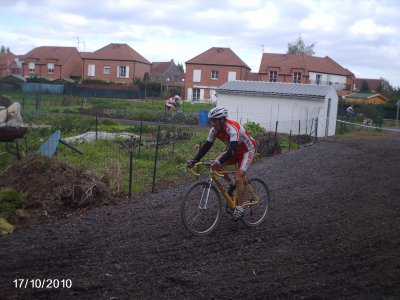 cyclo-cross de ORCHIES le 17 octobre 2010